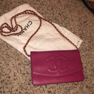 Chanel wallet on chain WOC authentic